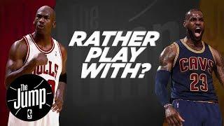 McGrady And Pierce Debate: LeBron Or MJ?   The Jump   ESPN