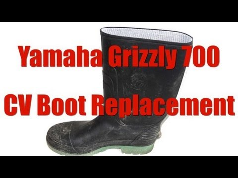 Yamaha ATV Grizzly 700 CV Boot Replacement
