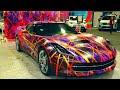 "2016 Washington Auto Show - ""Art of Motion"" Corvette Transformation (HD)"