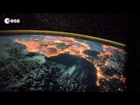 Timelapse: Canary Islands to Italy