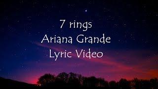 Baixar Araina Grande 7 rings Lyric Video