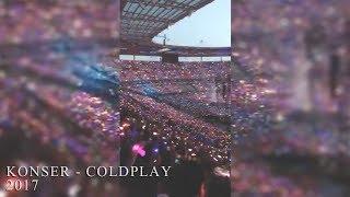 KEREEEEEN...KONSER COLDPLAY 16 JULI 2017 DI PARIS #ColdplayParis