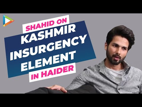 Haider: Shahid Kapoor Exclusive Interview on Kashmir controversy Part ll