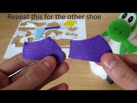 Make your own Yoshi Plush