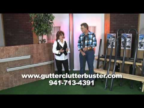 Quot As Seen On Tv Quot Gutter Cleaning Tool Kit Safely Clean From