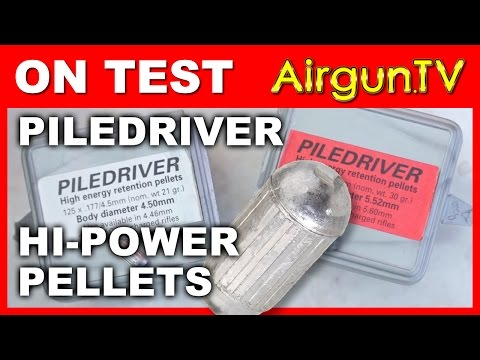 TESTED: The Piledriver high efficiency airgun pellet