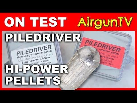 TESTED: The Piledriver high efficiency airgun pellet