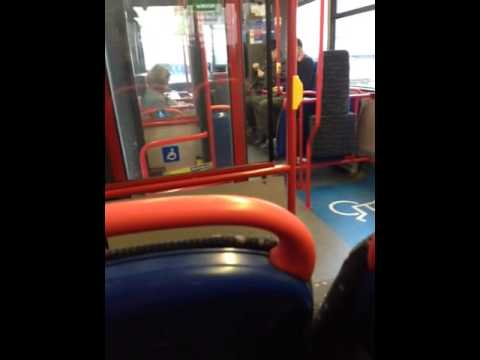 Very rude London bus driver