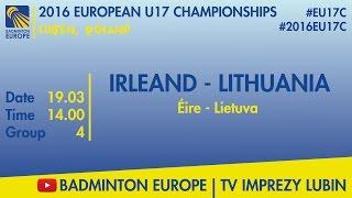 Ирландия до 17 : Литва до 17