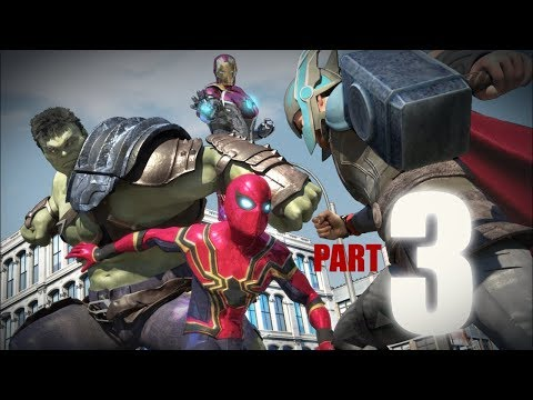 SPIDER-MAN vs The Avengers in Real Life - Part 3