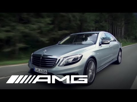The S 63 AMG in the Austrian Alps