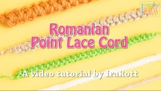 Romanian Point Lace Cord by IraRott