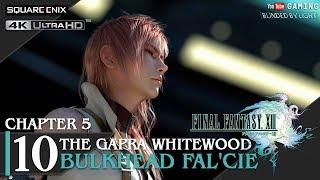 Final Fantasy XIII - Walkthrough Part 10 | The Gapra Whitewood | 4K 60fps