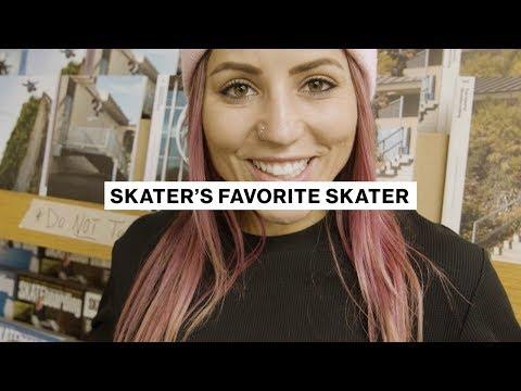 Skater's Favorite Skater | Leticia Bufoni