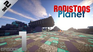 Rodistoos Planet Episode 1 Season 2 | Minecraft