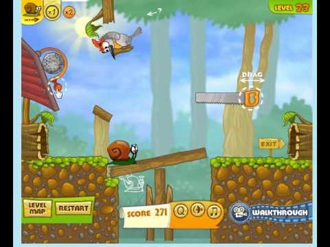 snail bob 2 level 23