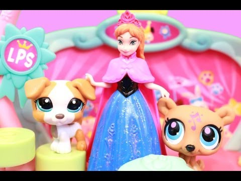 Frozen Anna LPS Littlest Pet Shop Talent Show Disney Frozen Play Doh