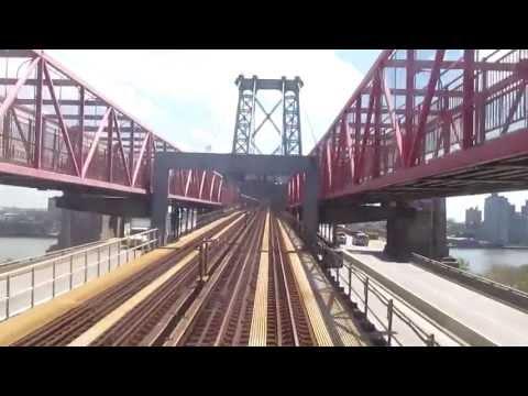 NYC Subway Jamaica-Nassau Line - Broad St to Jamaica Center Local w/ R32s + R42's