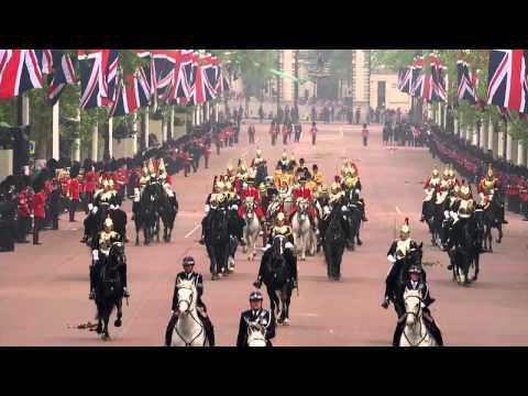 29/04/2011 - The Procession to Buckingham Palace (The Captain's Escort)