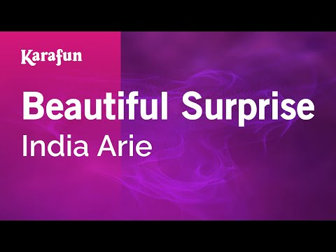 Karaoke Beautiful Surprise - India Arie *