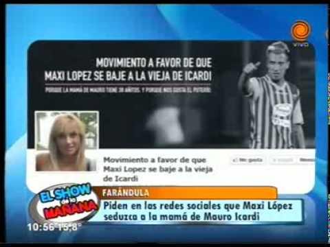 piden Maxi López seduzca a madre de Mauro Icardi 11 06 2014