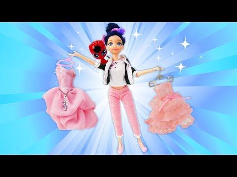 Маринетт идёт на бал - Леди Баг - игры одевалки для девочек.