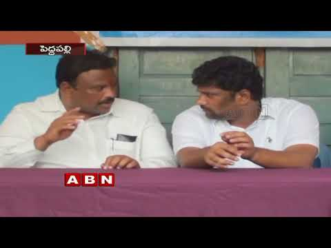Internal clashes between TRS Leaders over Ramagundam Corporation Elections | Peddapalli | Inside