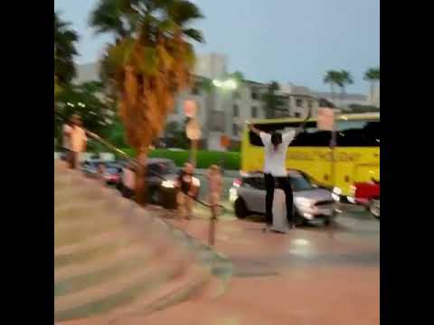 HUGE switch heel @_carlosvega 🎥: @jasoninformation   Shralpin Skateboarding