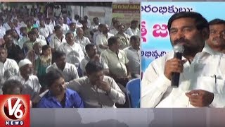 Minister Jagadish Reddy Launches New LED Street Lights In Pillalamarri, Suryapet