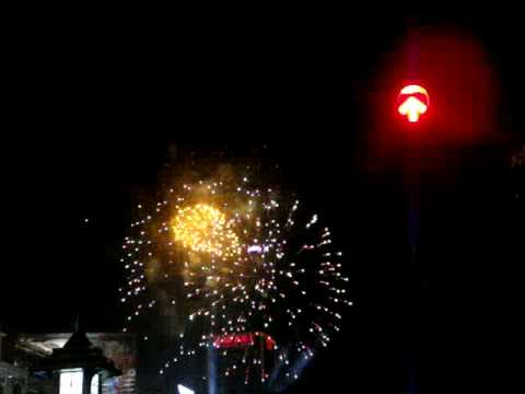 Happy New Year 2009 Countdown At Central World Bangkok