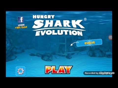 HUNGRY SHARK EVOLUTION:REEF SHARK AND ARCTIC LAND episode 1