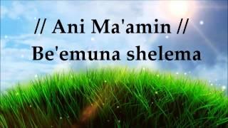 Paul Wilbur - Vamos Pronto Corriendo/Ani Ma'amin - Letra