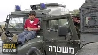 UN Accuses Israel of Torturing Palestinian  Children, 7/6/13