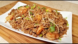 EASY Shrimp Fried Rice | How to Make Chinese Fried Rice | Chinese Take Out Style Fried Rice
