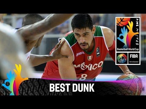 Angola V Mexico - Best Dunk - 2014 Fiba Basketball World Cup video