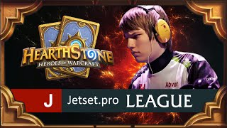 Hearthstone. Jetset pro. League. Матч шестой.