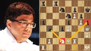 The Bluff! | Vallejo Pons vs Anand || Grenke Chess Classic (2019)