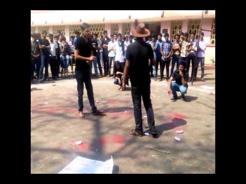 Nukkad Natak Exaggeration Of Media Nit Raipur video