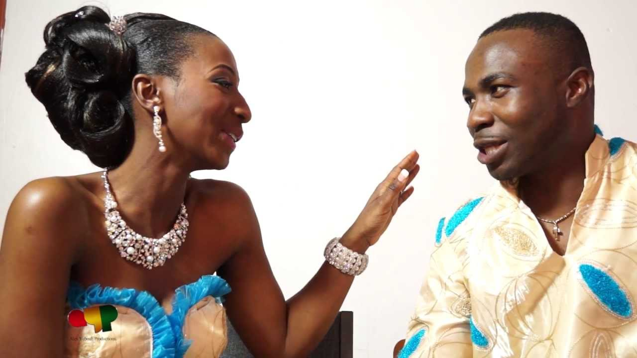 TRADITIONAL GHANAIAN ENGAGEMENT CEREMONY IN MONTREAL