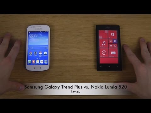 Samsung Galaxy Trend Plus vs. Nokia Lumia 520