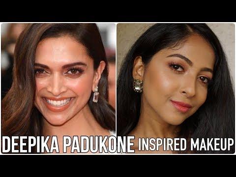 DEEPIKA PADUKONE Inspired Makeup | Easy Summer Eyemakeup Tutorial | Stacey Castanha