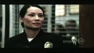 Southland - Lucy Liu (Officer Tang) Youtube Beat Down Scene Season 4