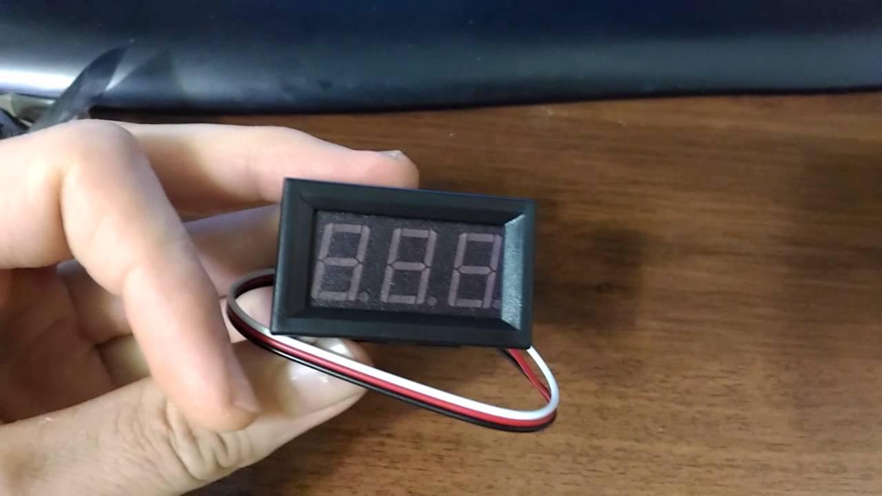 Установка автомобильного термометра своими руками 72