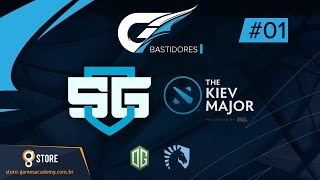 BASTIDORES SG E-SPORTS - DIA #01 - THE KIEV MAJOR (Dota 2)