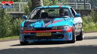Modified Cars Accelerating at Car Meet! - Silvia, TwinTurbo Gallardo, Lancer Evo, Challenger R/T,...