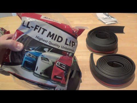 DIY: Car Lip Kit Review and Install ALL-FIT vs EZ LIP