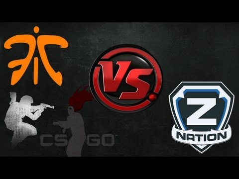 The FPS Show - Znation Vs Fnatic - de_train: RaidCall One Summer 2013 Cup