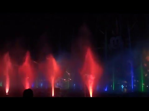 World of Color 2013 at Disney California Adventure