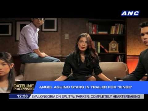 "Angel Aquino Strips for ""Kinse"""