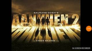 Aankhen 2 Movie first look coming soon